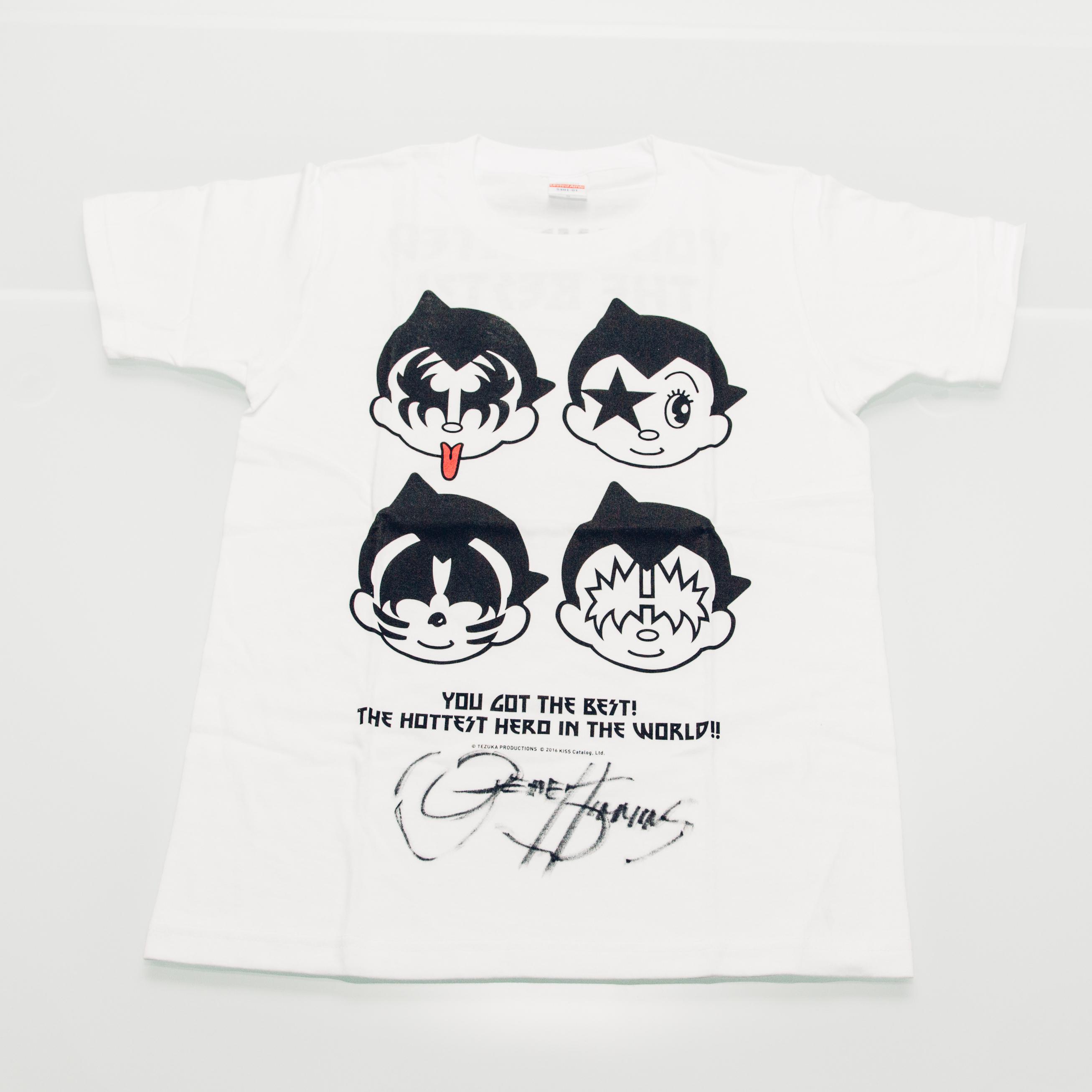 【売約済】ジーン・シモンズ様サイン入りTシャツ
