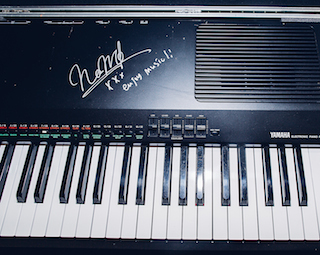 【売約済】槇原敬之様サイン入りキーボード