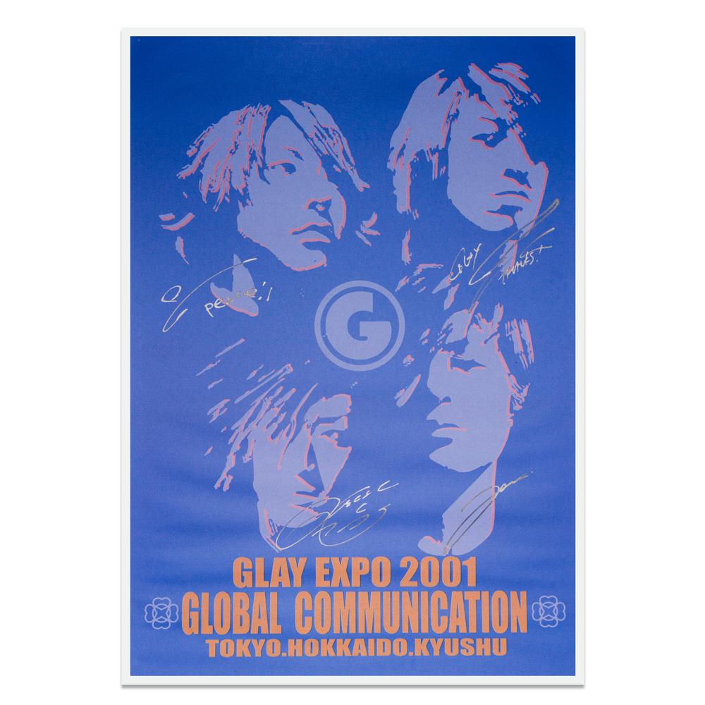 【売約済】GLAYメンバーサイン入りTERU様作ポスター