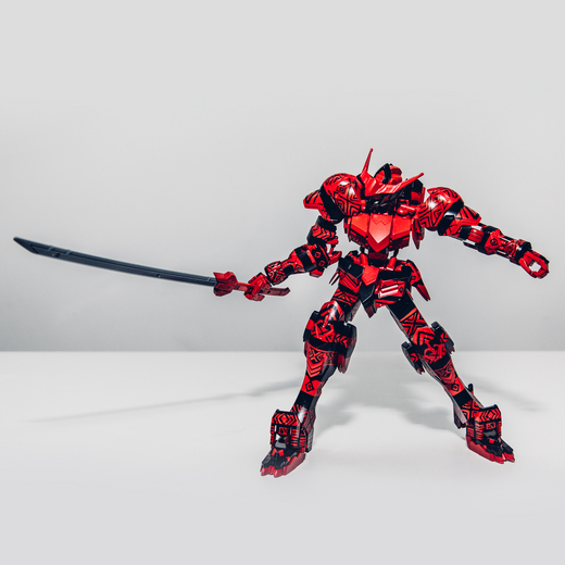 【売約済】MISIAデザインモデル・1/100ガンダムバルバトス